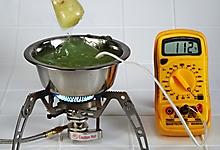 Гель МИАСС-110. Тест на высокие температуры.