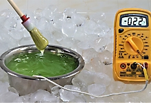Гель МИАСС-110. Тест на низкие температуры.