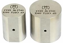 СОП с плоскодонным отверстием для УЗ контроля прутков.