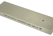 СОП плоский, тип 1. Зарубки 2,0х1,2мм. Материал - нерж. сталь 12Х18Н10Т.