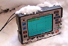 Прибор УД9812 устойчив к низким температурам.