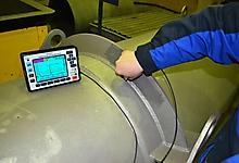 УД9812. Контроль углового сварного шва.
