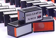 П121, П122 - наклонные УЗ преобразователи