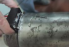 Ультразвуковой преобразователь П131-2,5-0/20-К14. Контроль вагонной оси. Фото 2.