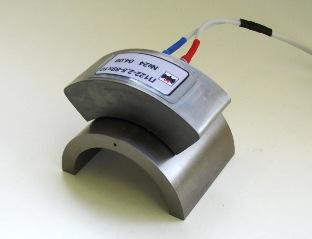 Прозвучивание трубного СОП хордовым ультразвуковым преобразователем