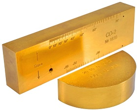 Стандартные образцы СО-2 СО-3 золотые