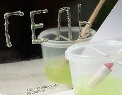 """Гель для УЗК """"Миасс"""". Тест на адгезию и вязкость. Производство ООО """"ИЦ Физприбор"""""""