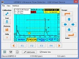 Принтскрин программы виртуального дефектоскопа УД9812