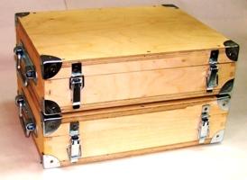 Ящики с комплектами мер ультразвуковой эквивалентной толщины МЭТ-300