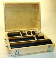 Комплект мер ультразвуковой эквивалентной толщины МЭТ-300 в ящике