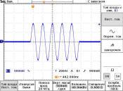 Синтезатор сигналов СС306. Высокочастотный импульс 5МГц.
