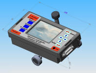 """Дефектоскоп ультразвуковой сканирующий многофункциональный УДС0516 """"Эхограф"""", внешний вид"""