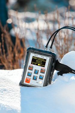 Ультразвуковой толщиномер УТ907. Устойчив к низким температурам.